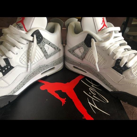 15b23716dc7 Jordan Shoes   Air 4 Retro Cement Us 11   Poshmark